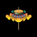 Zdobiony Parasol