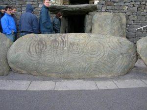 Triskelion - grobowiec Newgrange