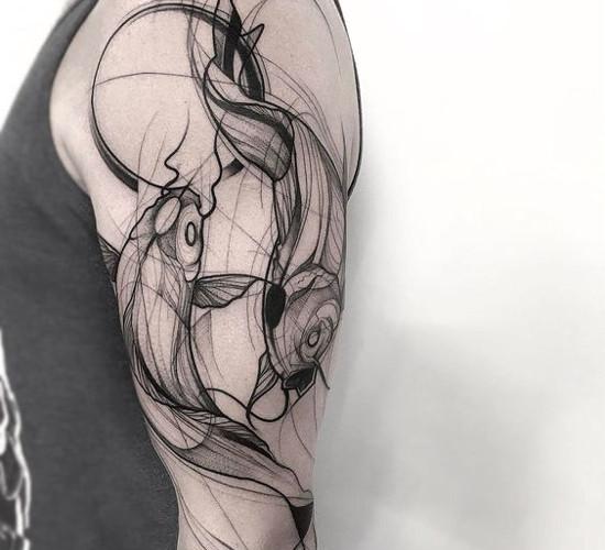 Symbole Na Tatuaż 4 Ryby Koi Wszystkie Symbole Baza