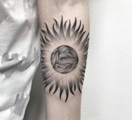 Symbole Na Tatuaż 2 Słońce Wszystkie Symbole Baza