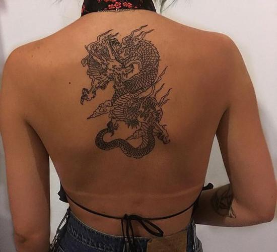 Symbole Na Tatuaż 1 Smok Wszystkie Symbole Baza