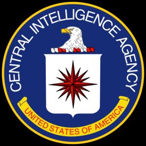 Logo (herb) CIA i znajdująca się na nim róża wiatrów