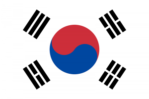 Flaga Korei południowej - trygramy, Yin Yang