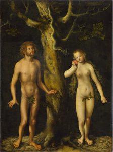 Kuszenie Adama i Ewy