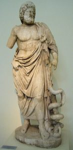Posąg Asklepiosa
