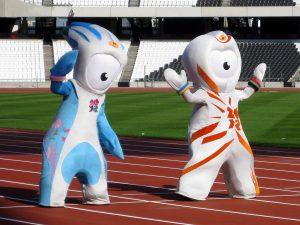 Wenlock i Mandeville-oficjalne maskotki Letnich Igrzysk 2012 w Londynie
