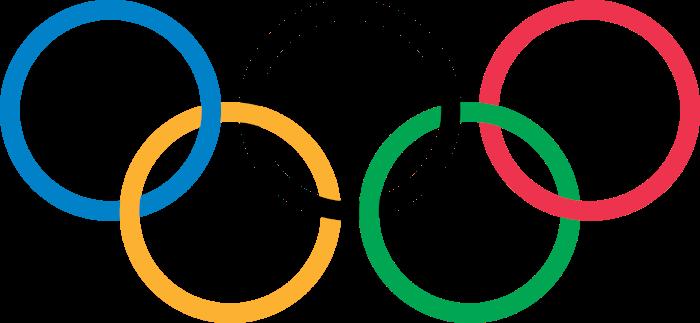 Koła Olimpijskie - znajdujące się na fladze