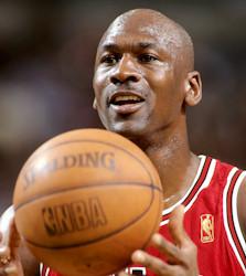 Michael Jordan - jeden z najbardziej znanych koszykarzy